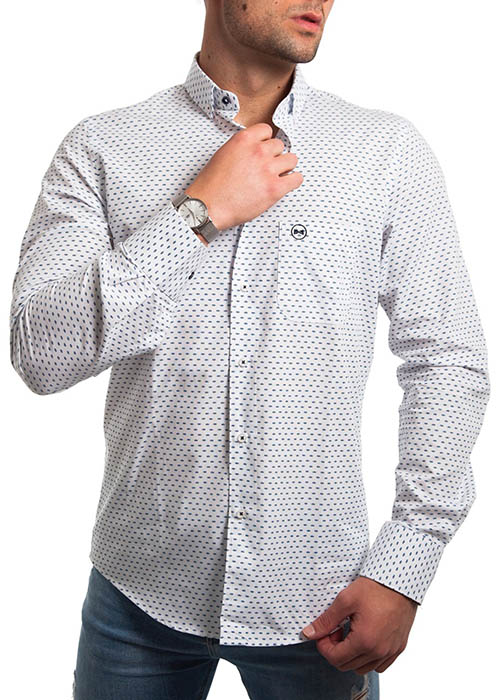Camisa Estampada Coronas 2