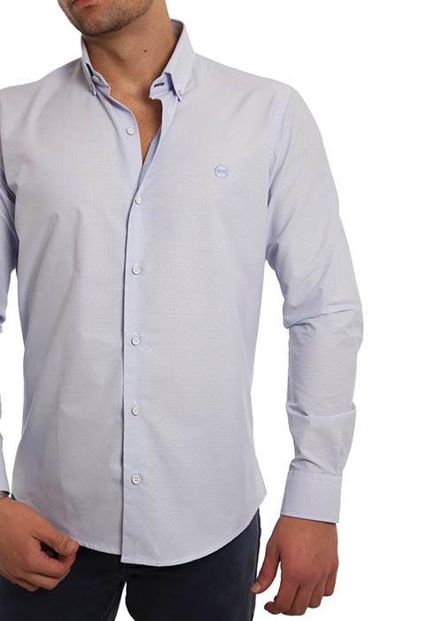 Camisa Azul Dibujo 2