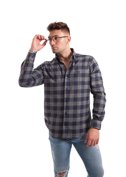 Camisa de Franela Cuadros 1
