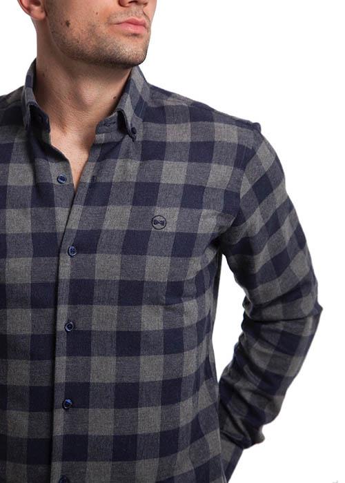 Camisa de Franela Cuadros 2