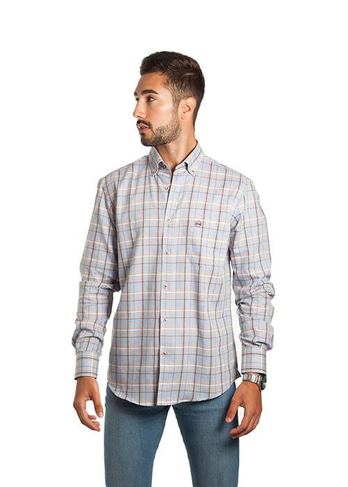 Camisa Viyela Gris 1