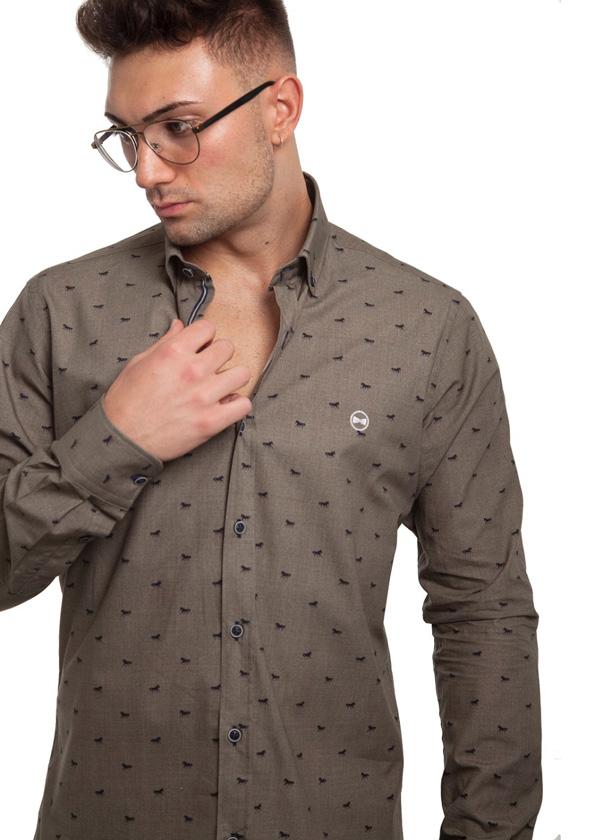 Camisa Estampada Caballos 2