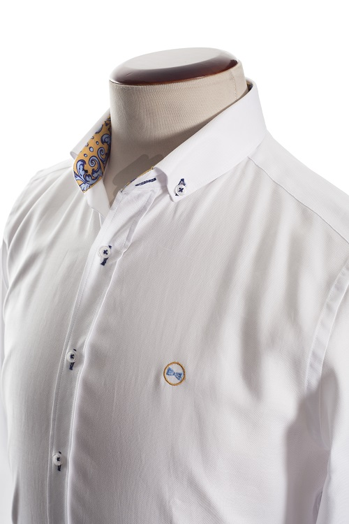 Camisa Cerámica Slim 4