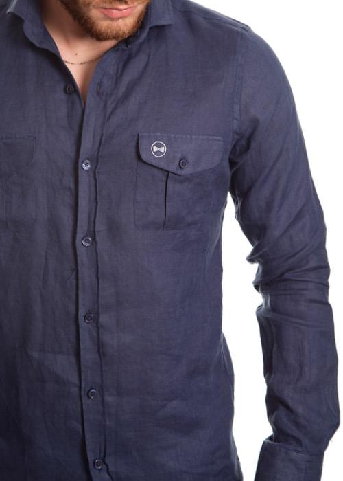 Camisa Tasche Blu 2