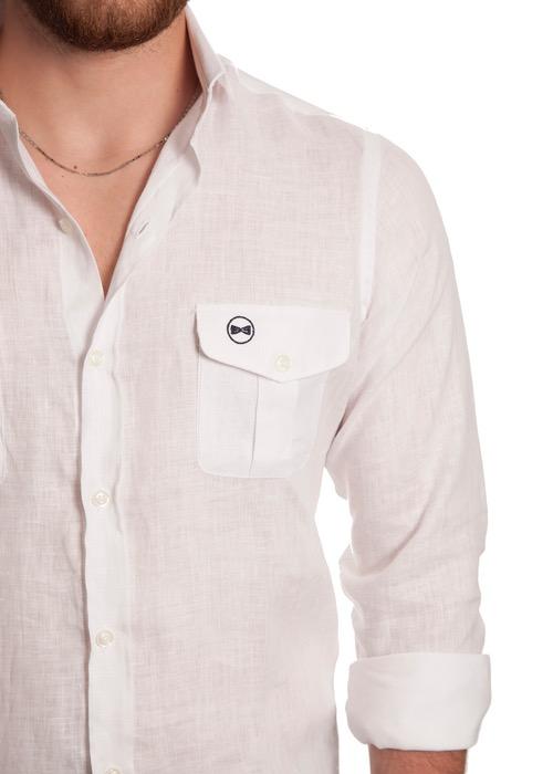 Camisa Tasche Bianche 2