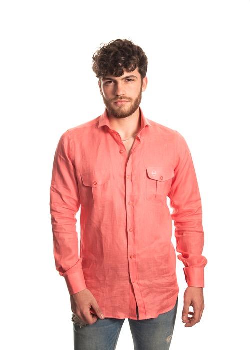 Camisa Tasche Arancioni 1