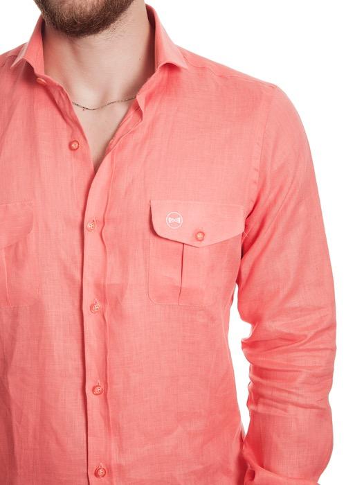 Camisa Tasche Arancioni 2