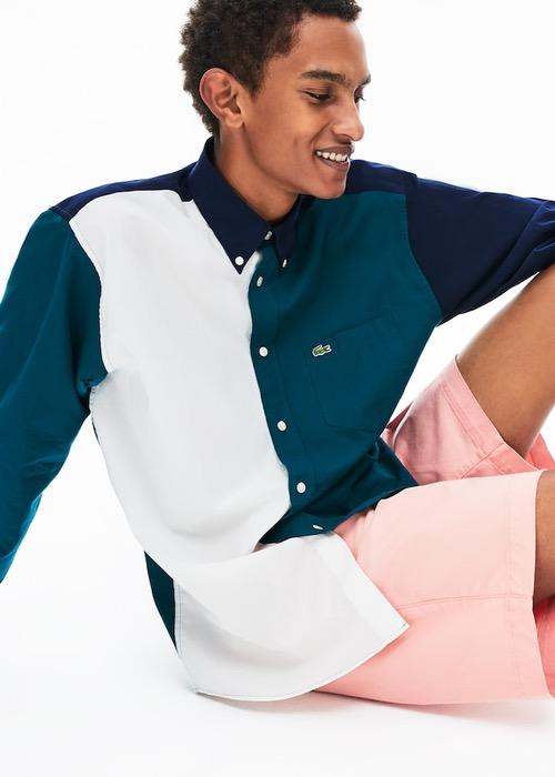 Camisa Algodón Combinada 2