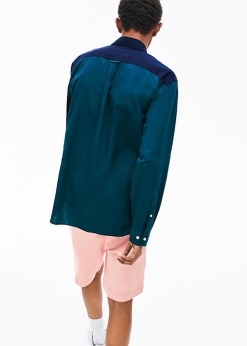 Camisa Algodón Combinada 3