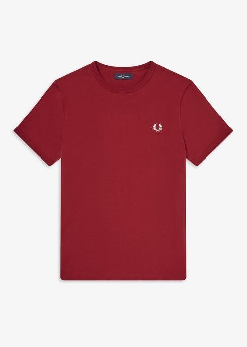 Camiseta Básica Granate 2