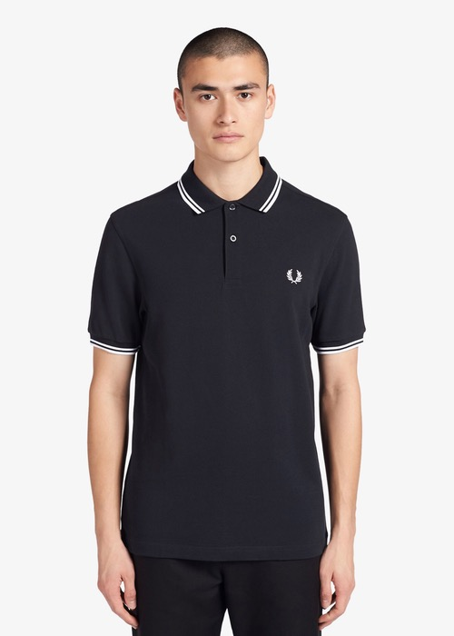 Polo Fred Perry Marino M3600 1