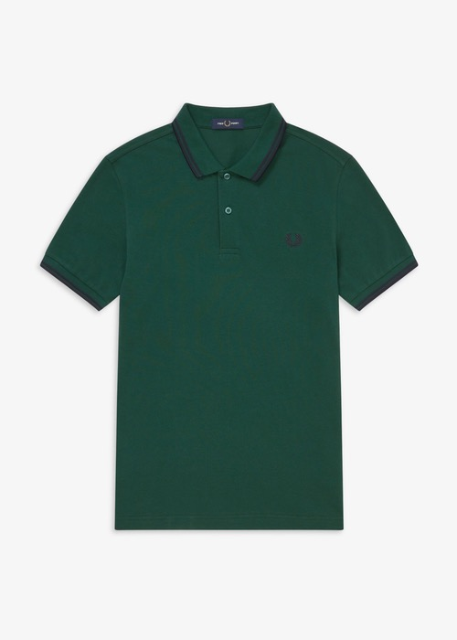 Polo Fred Perry Verde M3600 2