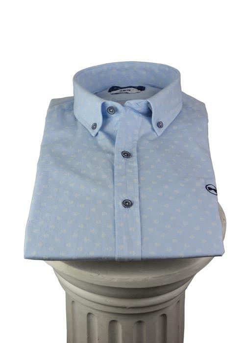 Camisa Aguamarina 1