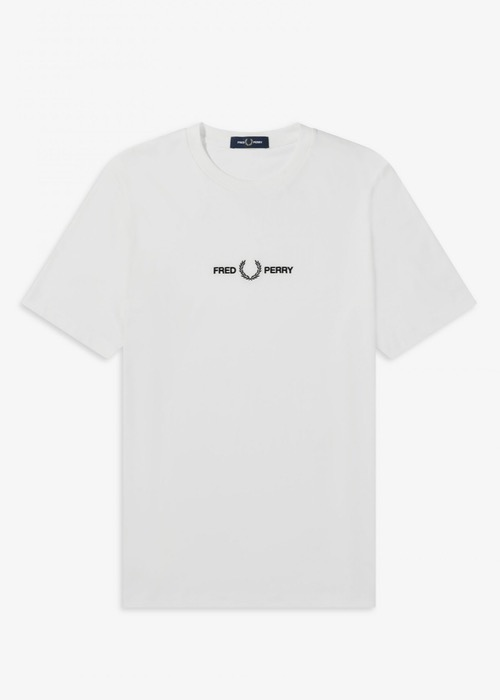Camiseta Fred Perry Blanca 2