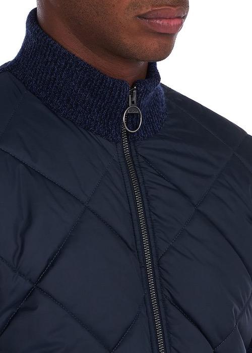 Cazadora Forrada Magnus Trought Zip Azul Marino 4