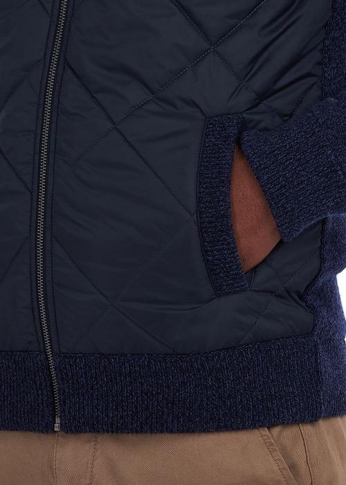 Cazadora Forrada Magnus Trought Zip Azul Marino 5