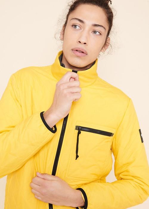Chaqueta Acolchada Amarilla 2