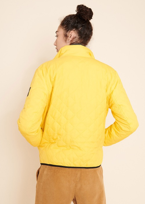 Chaqueta Acolchada Amarilla 4
