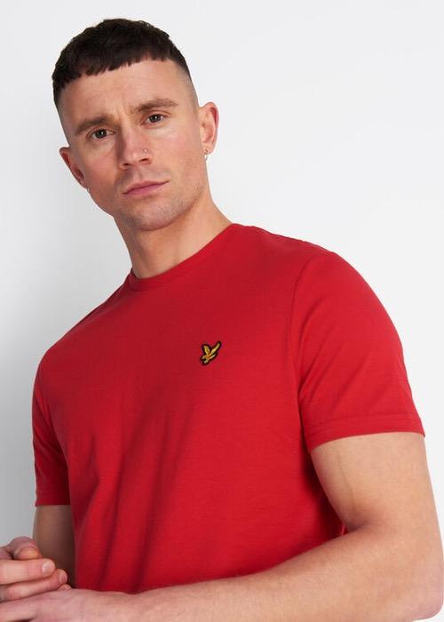Camiseta Básica Roja 2