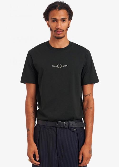 Camiseta Gráfica Negra FP 2