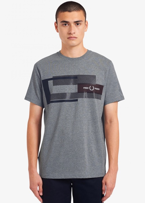 Camiseta Gris/G Dibujo 2