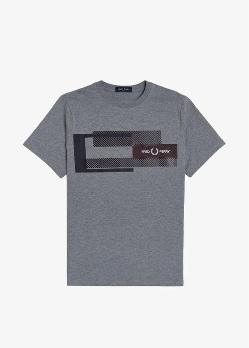 Camiseta Gris/G Dibujo 1