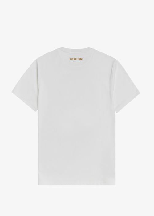 Camiseta Blanca Dibujo Laurel 4