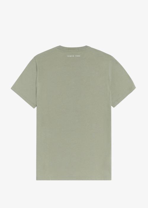 Camiseta Verde Dibujo Laurel 3