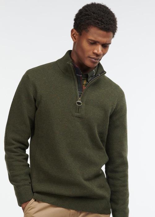"""Jersey """"Holden Half Zip"""" Verde 1"""