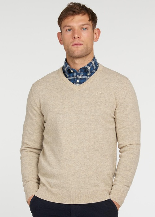 """Jersey Crudo """"Essential Lambswool V Neck"""" 1"""